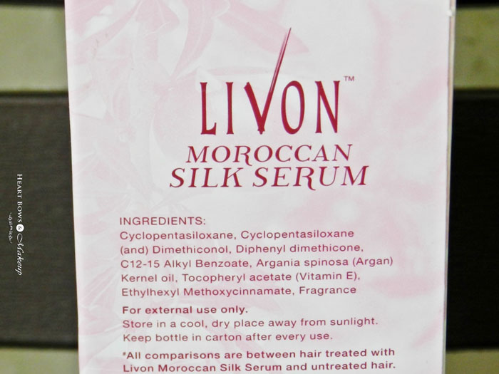 Livon Moroccan Silk Serum Review Price Amp Buy Online India