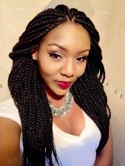 cute box braid hairstyles