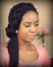 cute box braid hairstyles