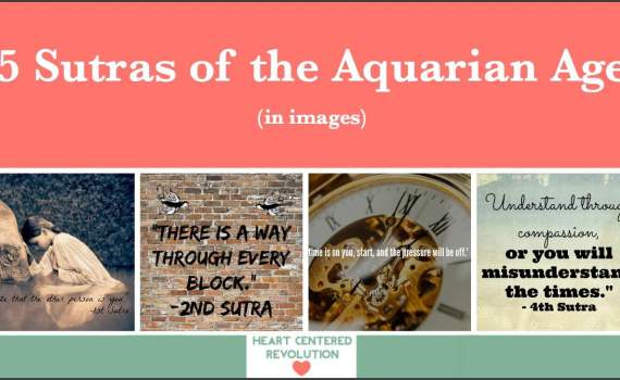5 Sutras of the Aquarian Age