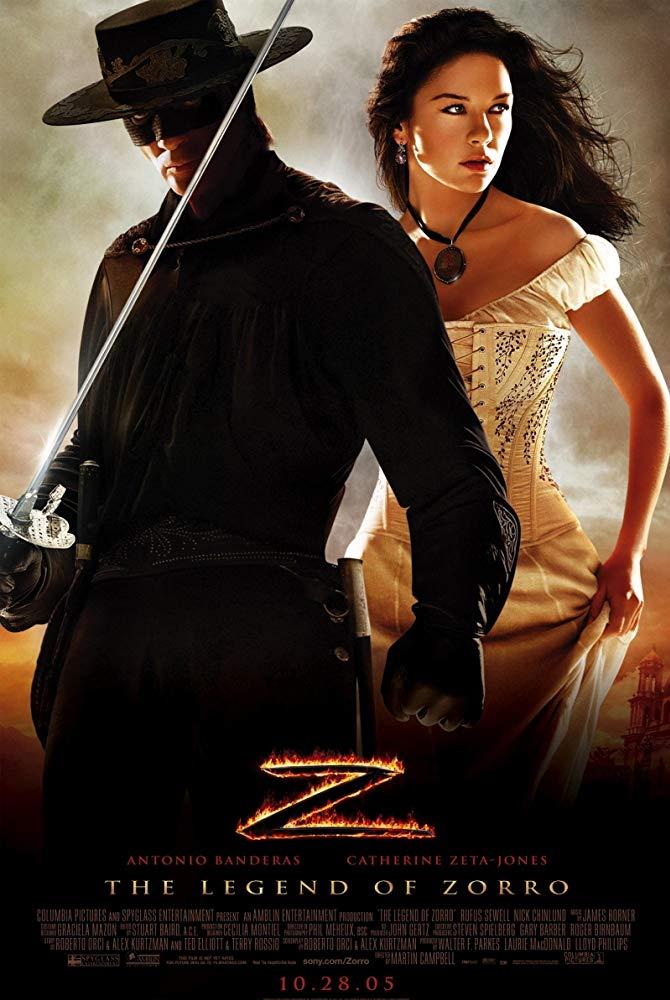 레전드 오브 조로 The Legend of Zorro (2005)