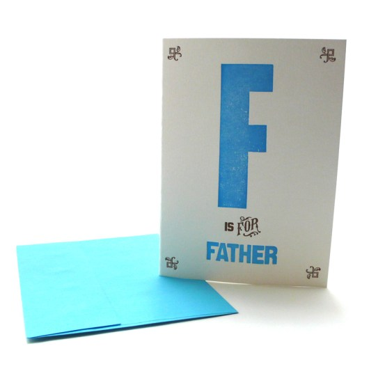 F is for Father