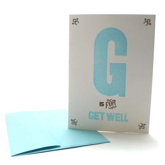 G is for Get Well