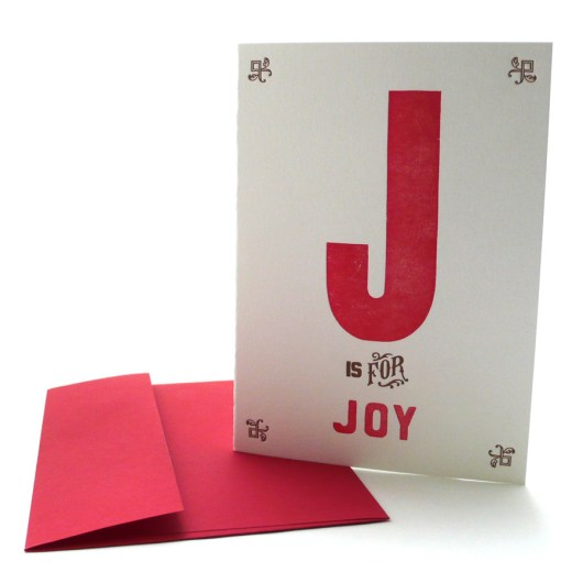J is for Joy