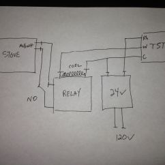 Thermistor Relay Wiring Diagram Eyfs Planning Cycle 120v 24v Latching Circuit