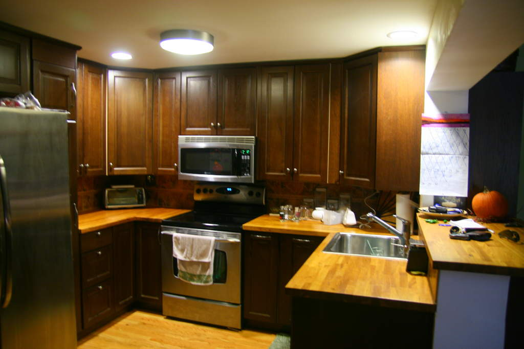 lowes kitchen cabinets under cabinet led lighting or cheaper questions hearth com forums home a3619213 229 img 3673 jpg