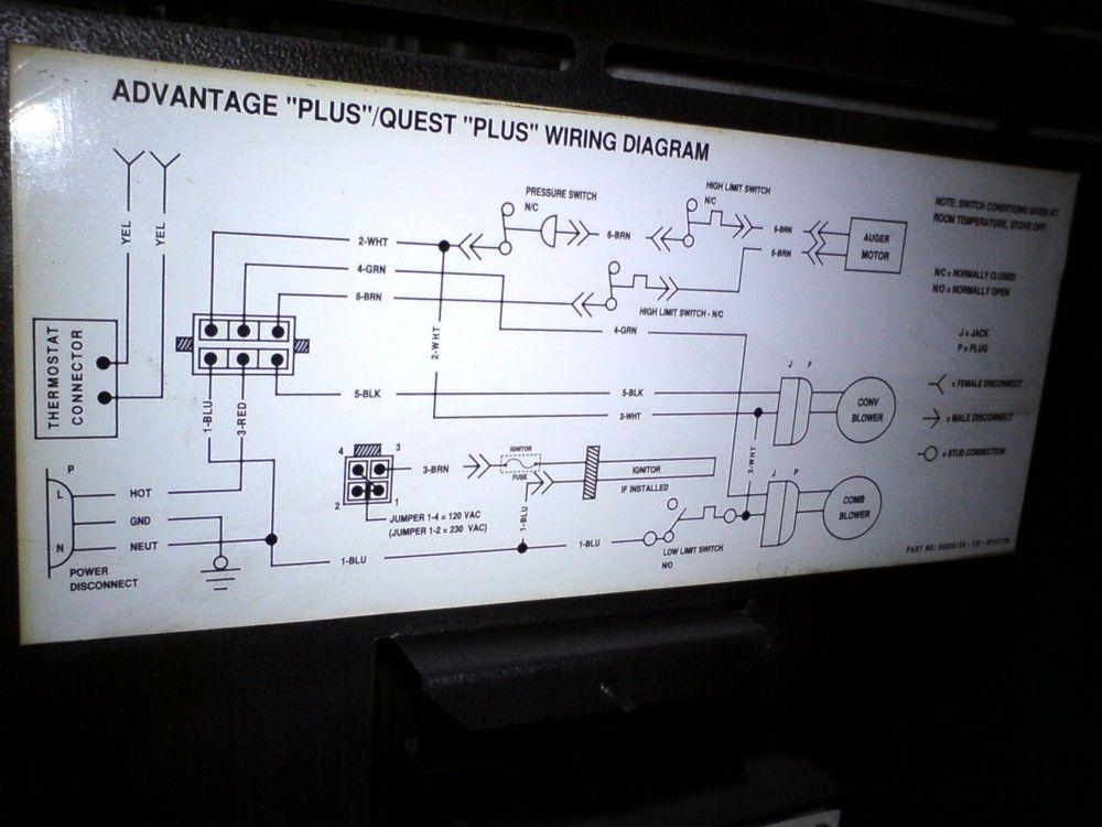Fireplace Blower Wiring Diagram Also Quadra Fire Pellet Stove Blower
