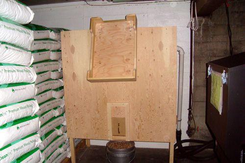 How To Make A Grape Arbor Wood Pellet Storage Bin Design