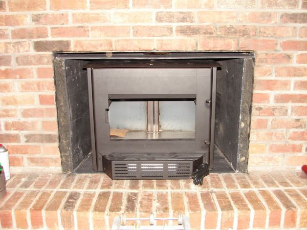 Chimney Door Cleanout & Installing Clean And