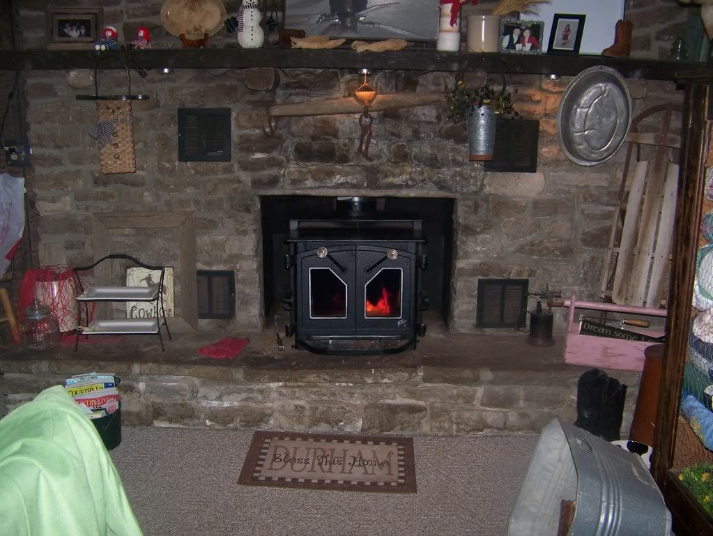 fireplace leaking into house on stove