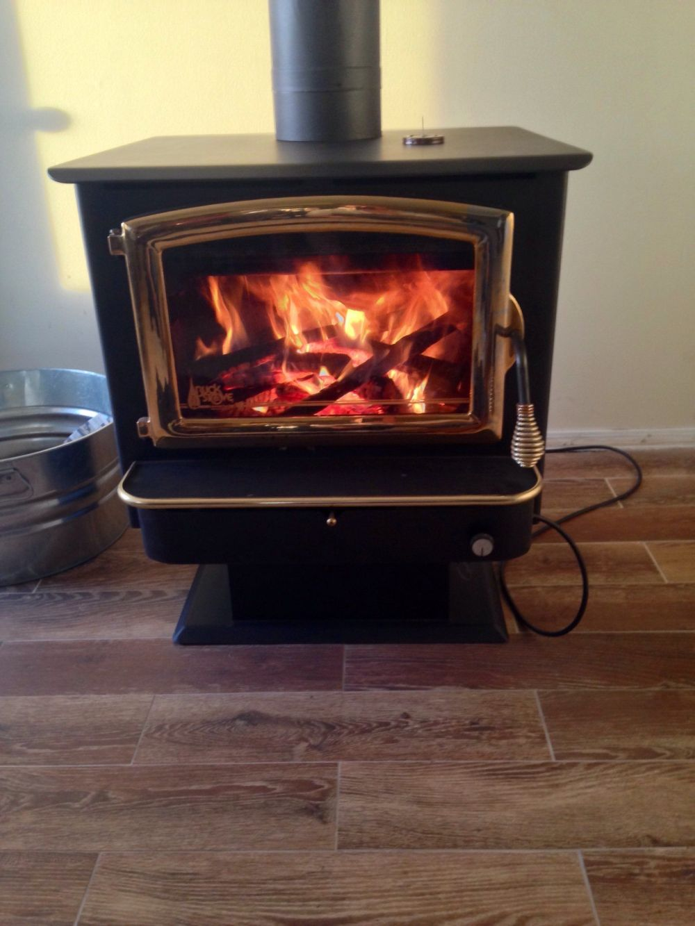 medium resolution of i was very impressed with my buck stove it produced the most impressive heat of any stove i ve had so far and i ve had a lot of new stoves