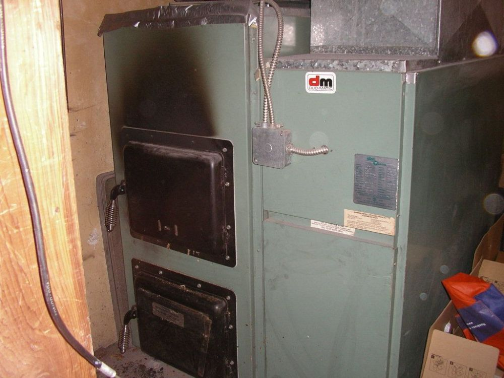 medium resolution of combination wood oil furnace pictures