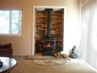 My Regency F2400 Woodstove install. (Alcove) | Hearth.com ...