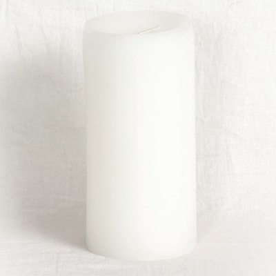 Paraffin Wax Pillar Candle Medium