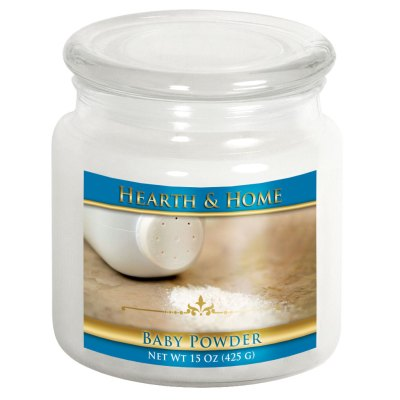 Baby Powder - Medium Jar Candle