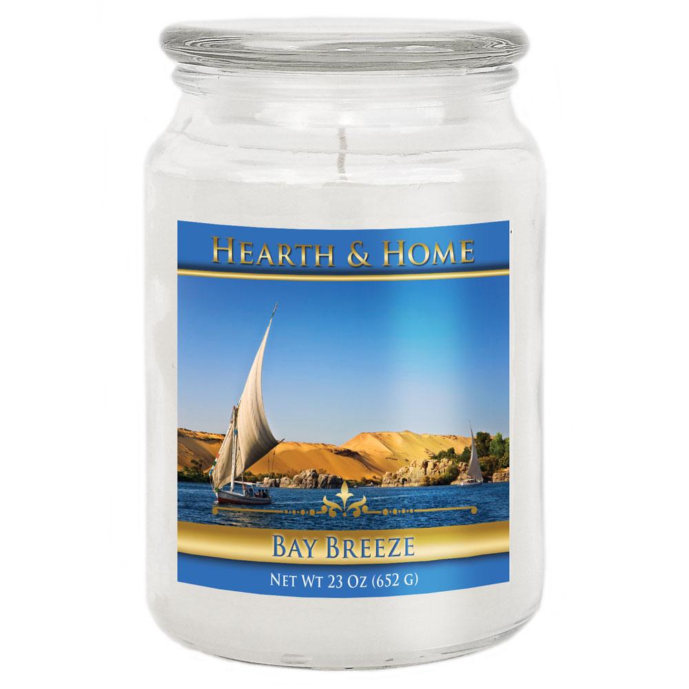 Bay Breeze - Large Jar Candle