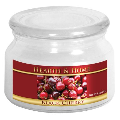Black Cherry - Small Jar Candle