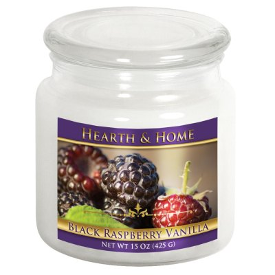 Black Raspberry Vanilla - Medium Jar Candle