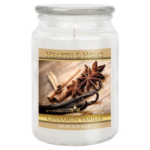 Cinnamon Vanilla - Large Jar Candle
