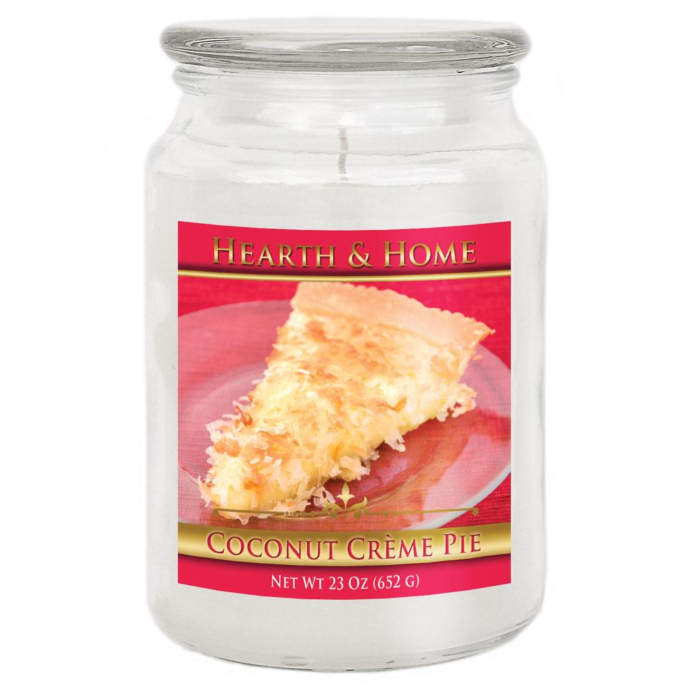 Coconut Creme Pie - Large Jar Candle