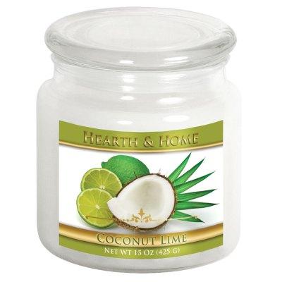 Coconut Lime - Medium Jar Candle