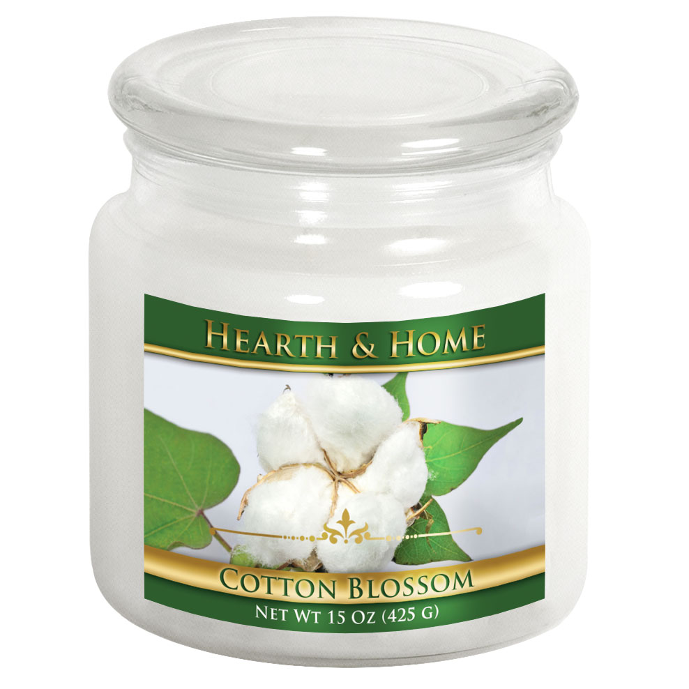 Cotton Blossom - Medium Jar Candle