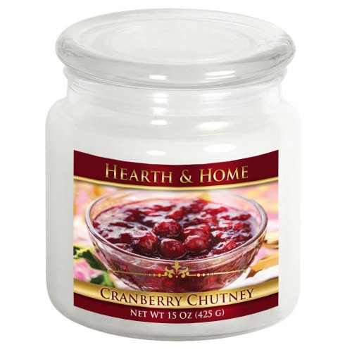 Cranberry Chutney - Medium Jar Candle