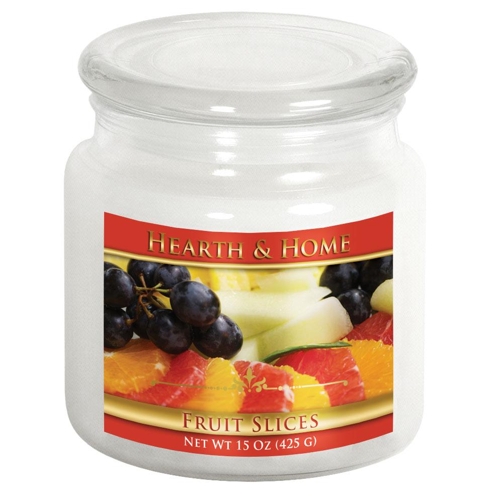 Fruit Slices - Medium Jar Candle
