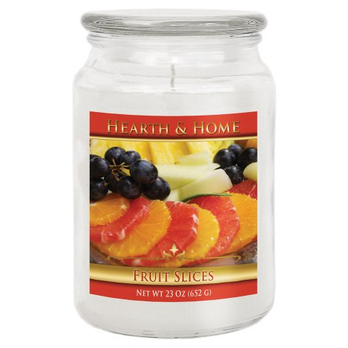 Fruit Slices - Large Jar Candle