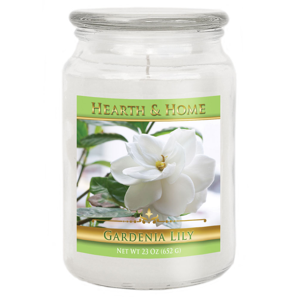 Gardenia Lily - Large Jar Candle