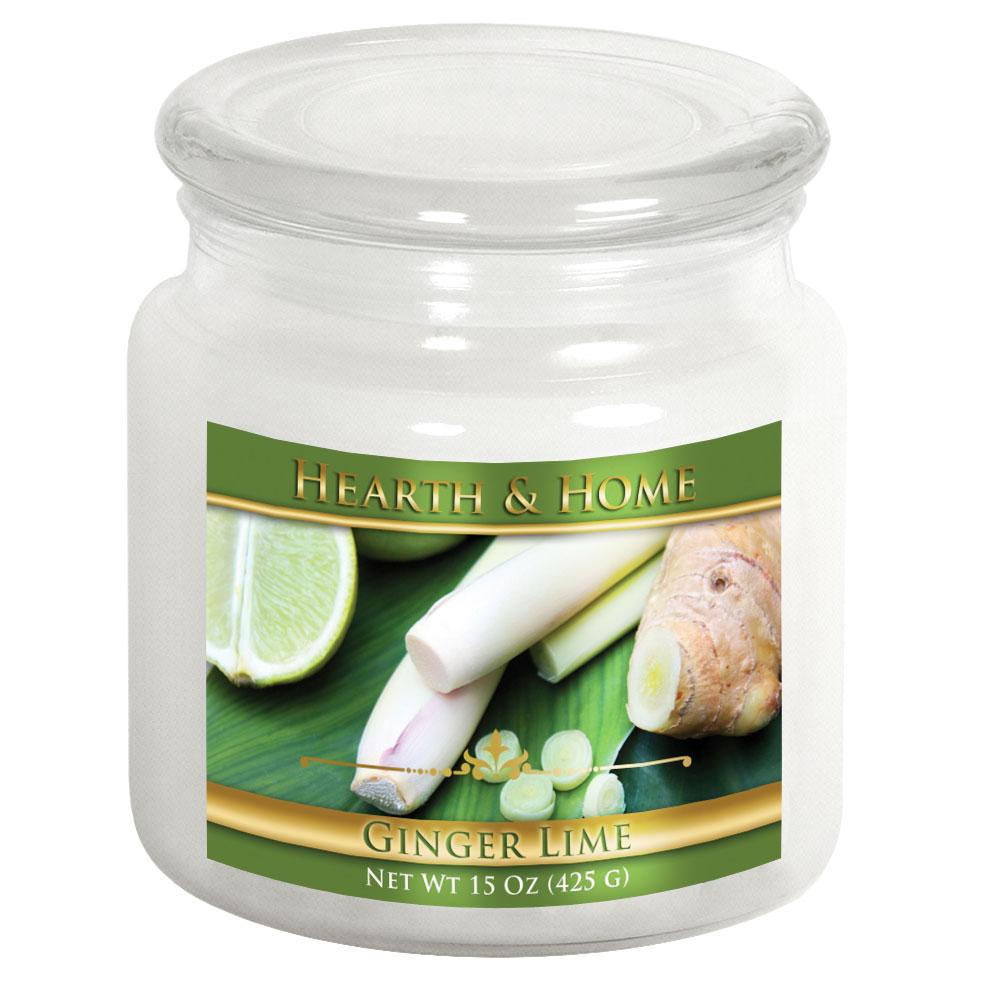 Ginger Lime - Medium Jar Candle