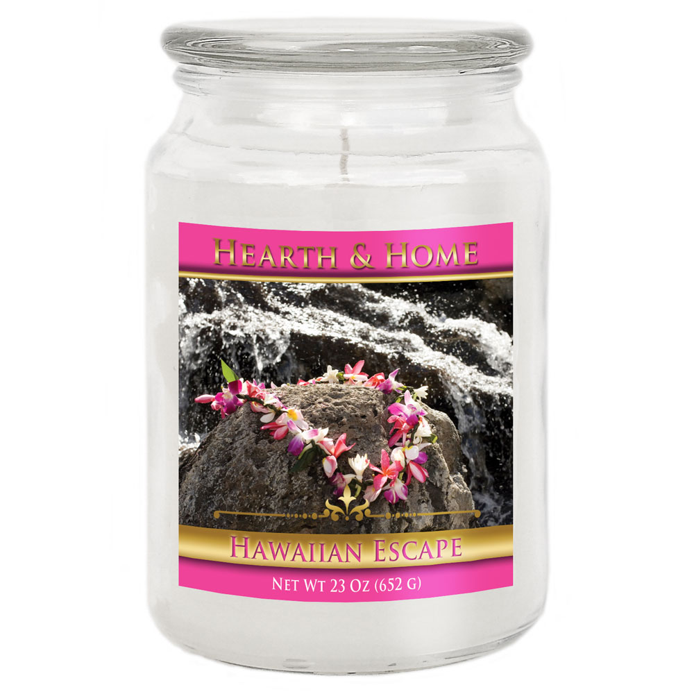 Hawaiian Escape - Large Jar Candle