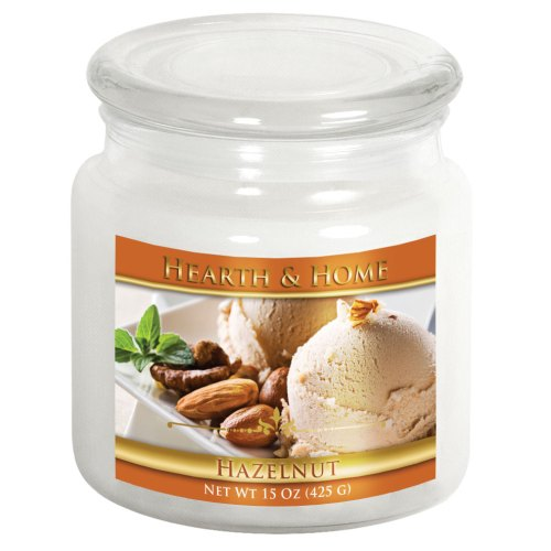 Hazelnut - Medium Jar Candle