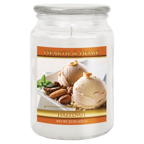 Hazelnut - Large Jar Candle
