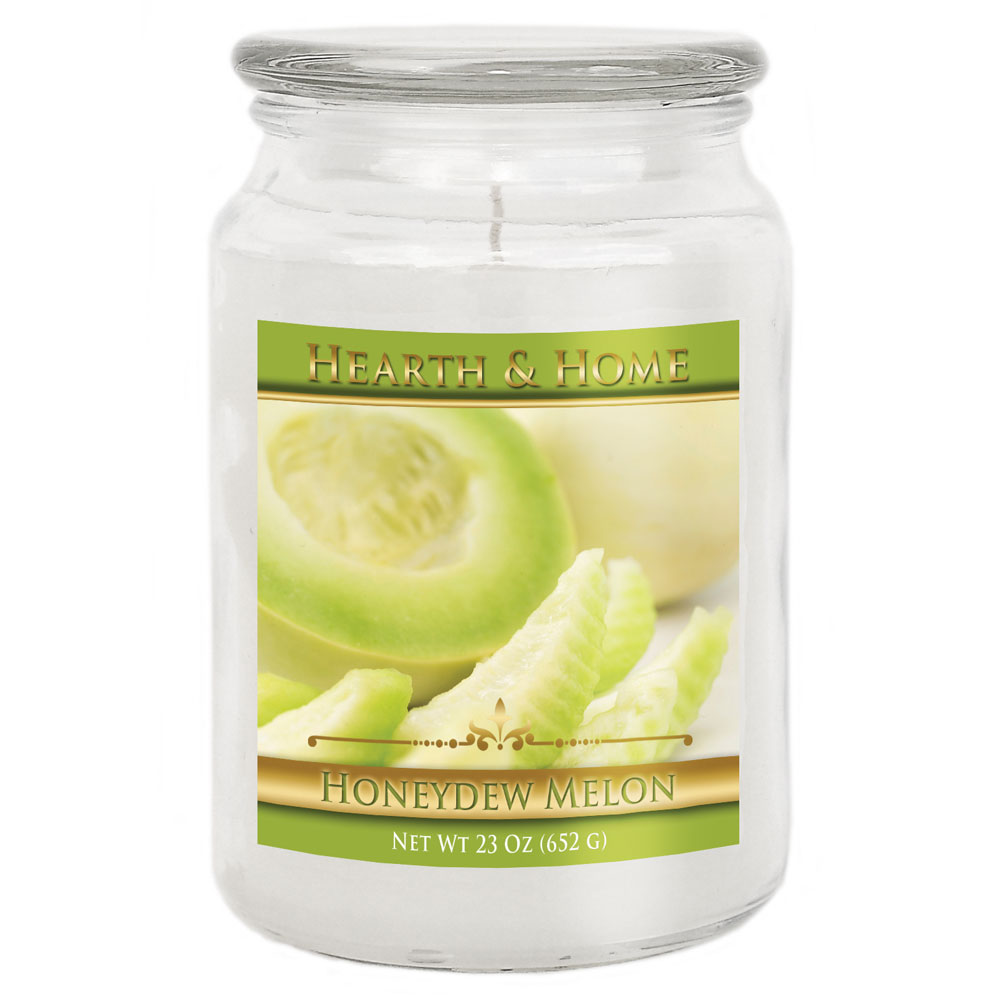 Honeydew Melon - Large Jar Candle