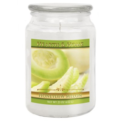 Honeydew Melon - Large Jar Candle