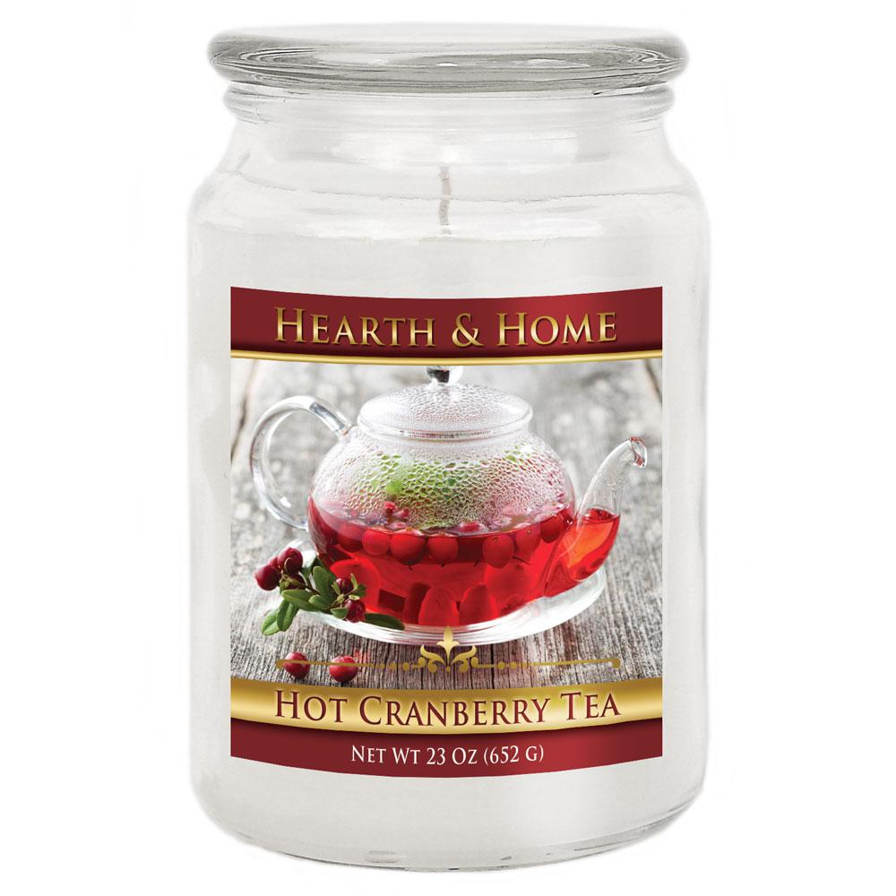 Hot Cranberry Tea - Large Jar Candle
