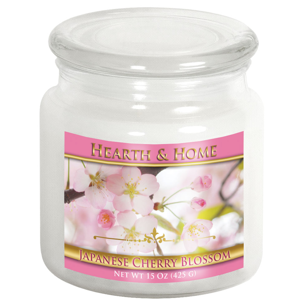 Japanese Cherry Blossom - Medium Jar Candle