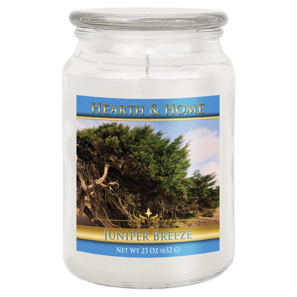 Juniper Breeze - Large Jar Candle