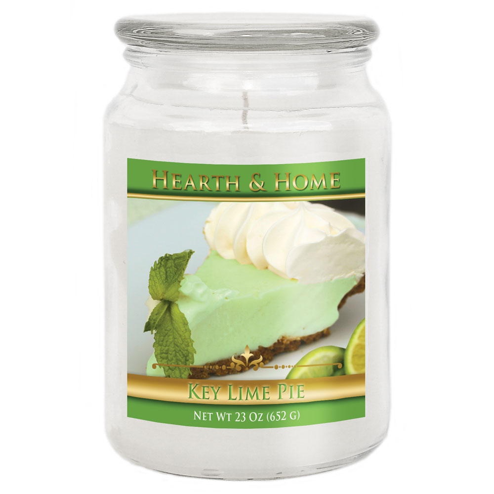 Key Lime Pie - Large Jar Candle