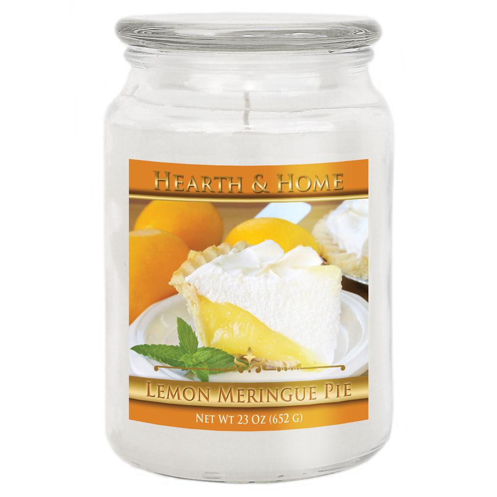 Lemon Meringue Pie - Large Jar Candle
