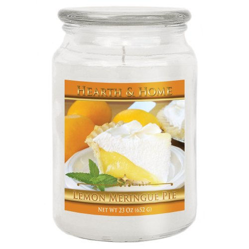 Lemon Meringue Pie - Large Jar Candle