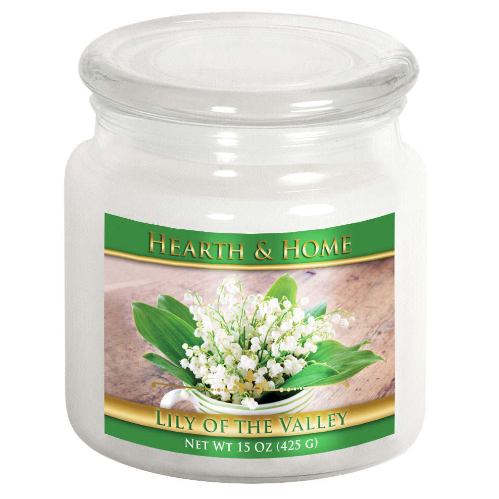 Lily of the Valley - Medium Jar Candle