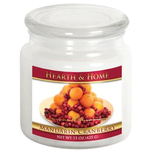 Mandarin Cranberry - Medium Jar Candle