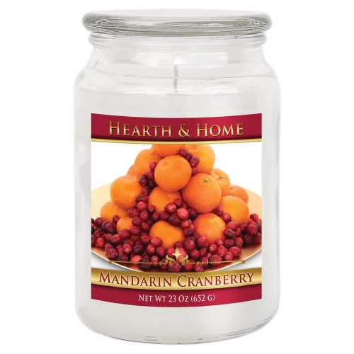Mandarin Cranberry - Large Jar Candle
