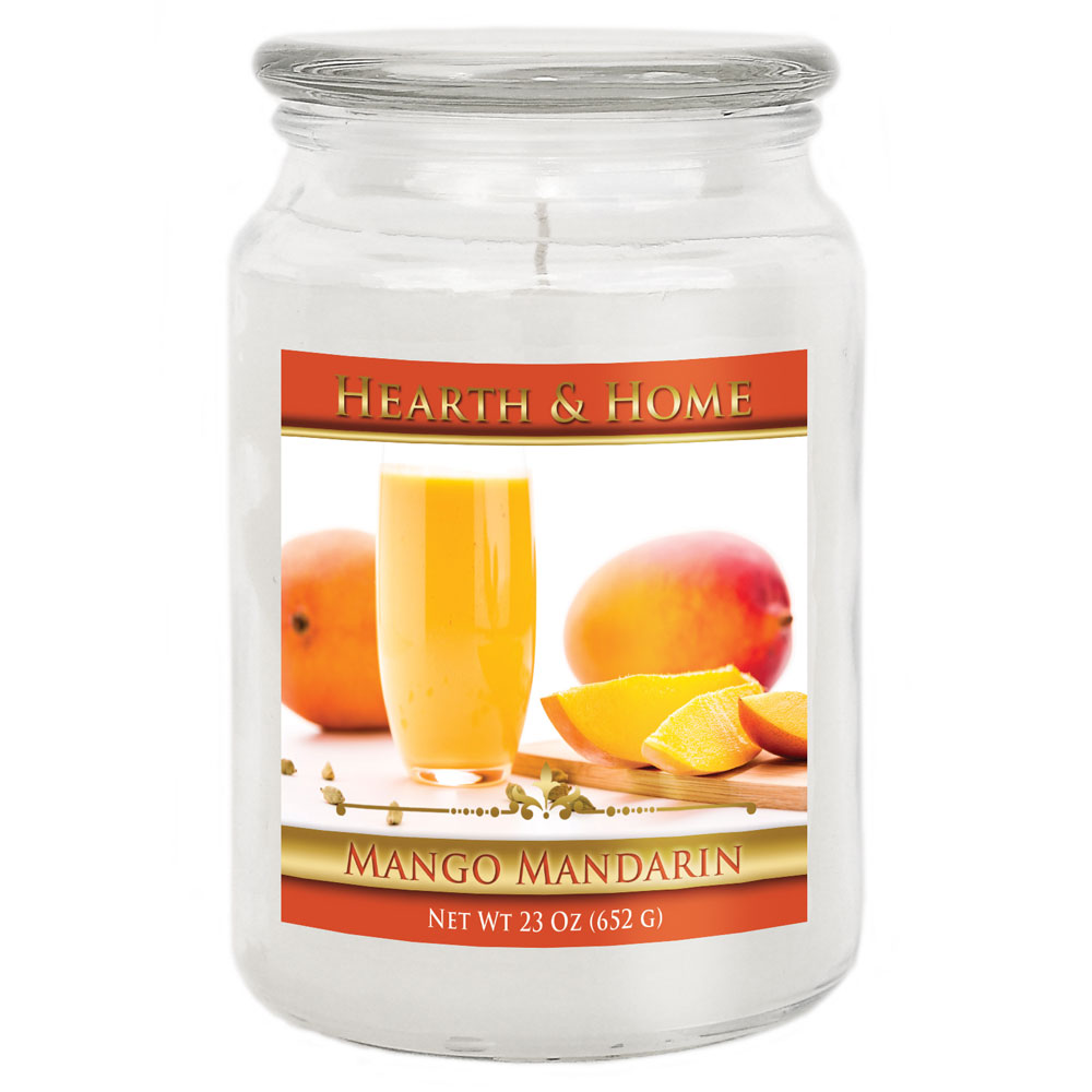 Mango Mandarin - Large Jar Candle
