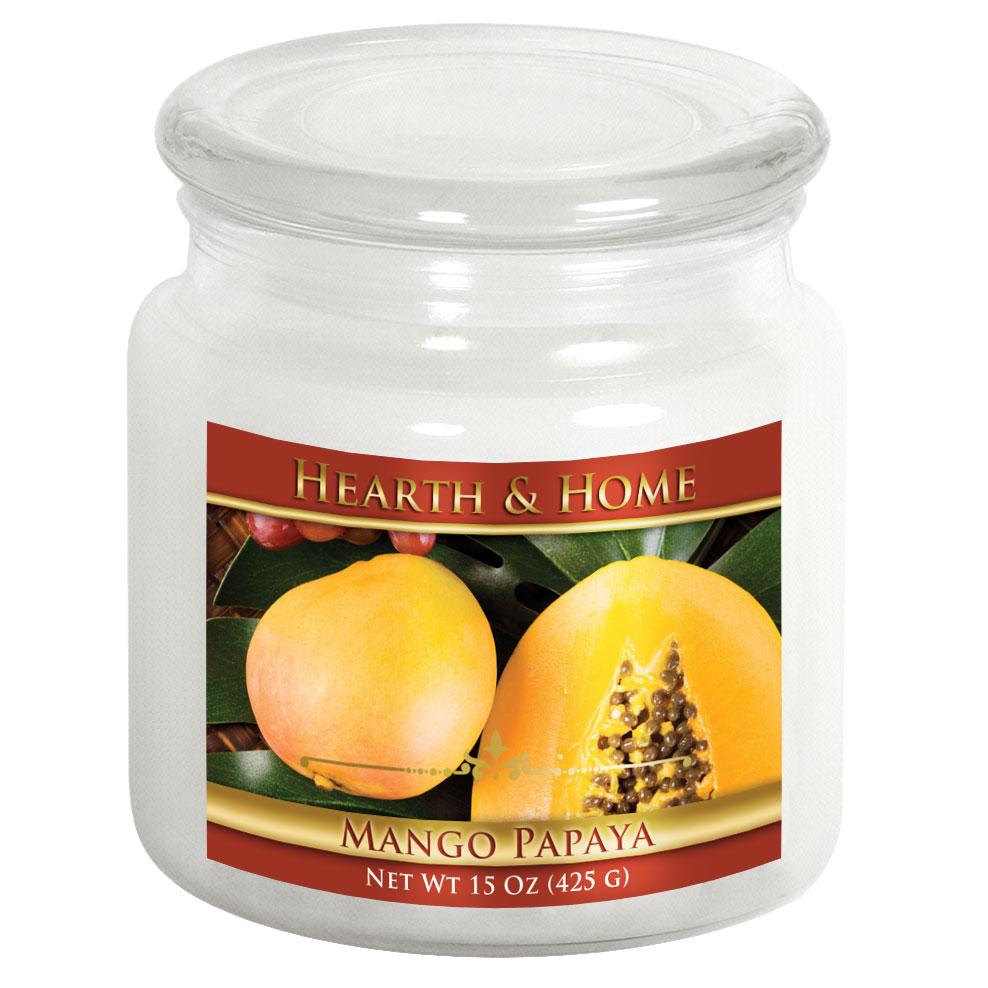 Mango Papaya - Medium Jar Candle