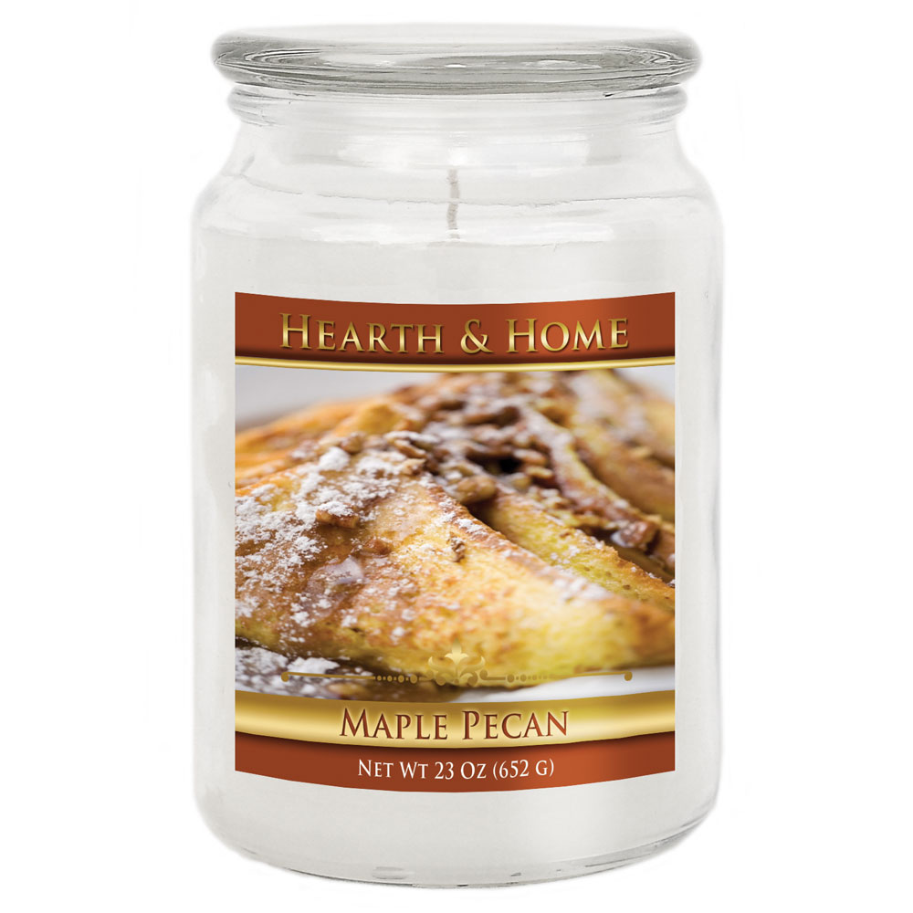 Maple Pecan - Large Jar Candle