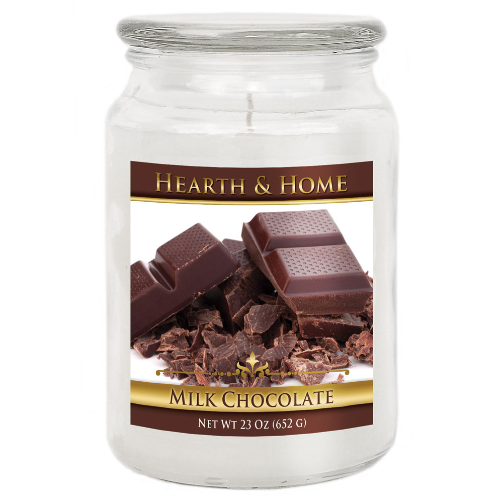 Milk Chocolate - Large Jar Candle