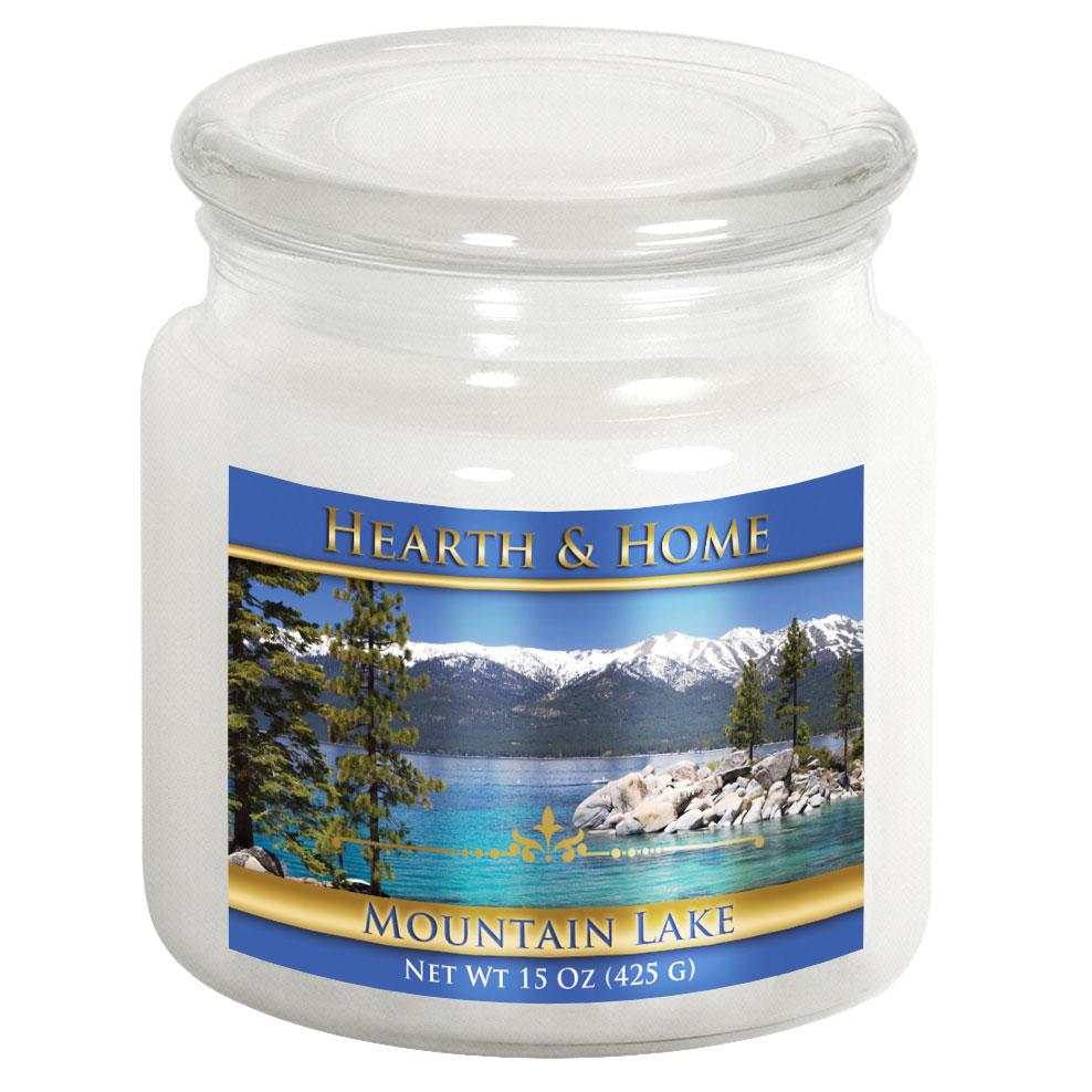 Mountain Lake - Medium Jar Candle